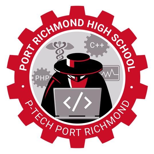 P-TECH Port Richmond logo